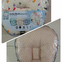 Sofa Bed Baby dengan Safety Belt ChugBog Animal Series CBS1005