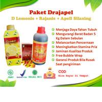 Drajapel D Lemonie Apell Silaxing Rajanie Pelangsing Detox Detoks Jahe