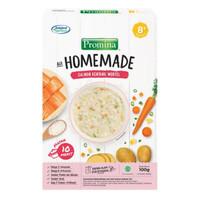 Promina Homemade Bubur Cereal Makanan Bayi Box 8m+ - Salmon Kentang