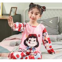 Piyama anak remaja impor size 12 - 18 (+/- 8 - 16thn) - candy girl, 12