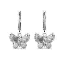 Chrysalis Butterfly Earrings Anting Crystal by Her Jewellery