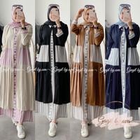 ORIGINAL Two Set Cantika Dress by Gagil - Tunik cardi set