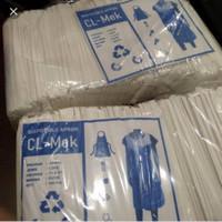 Apron Medis Plastik isi 100 Putih Susu Promo