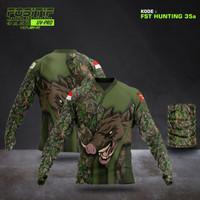 Baju Berburu Edisi BABI HUTAN - Kualitas Premium - Baju Hunting