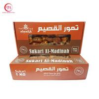 Kurma Sukari 1 kg - Sukkari Al Qassem Al Madinah Dates 1kg