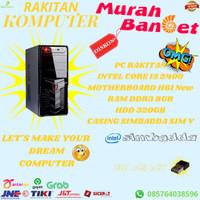 PC RAKITAN INTEL CORE I5 2400 8GB HDD 320GB