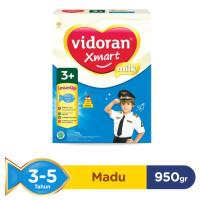 Vidoran Xmart Madu 1+ 3+ 5+ Susu Bubuk Honey Milk 950 Gram 950g