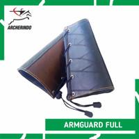 Pelindung Lengan / Arm Guard Bahan Kulit Sapi Archery Busur Panahan