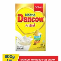 dancow fortigro 800gr full cream box // cokelat // instan