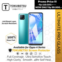 Tokubetsu Oppo A74 Series Anti Gores Hydrogel - Screen Protector Pro - A74, Front