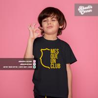 Kaos Bola Anak Barcelona - Baju Bola Barca - Kaos Mes Que Un Club