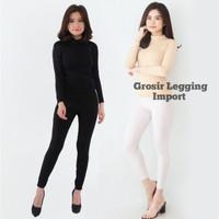 Manset Baju Wanita Lengan Panjang Jumbo M - 5XL Baju Kaos Hijab Import