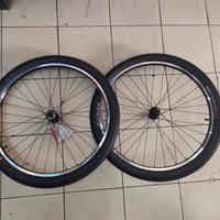 wheelset 26 araya tm620 sepeda MTB federal vintage