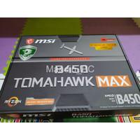 MSI B450 Tomahawk Max AM4 fullset mulus like new pemakaian 2 bulan aja