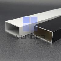 Hollow Aluminium 40 x 20 mm, t. 1.2 mm