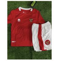 Jersey Kaos Baju Bola Anak Kids Indonesia Home 2020-2021 Grade Ori