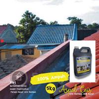 Aspal Cair Ampuh Atasi Lantai Dak / Atap Anti Banjir 5 KG Terbaik