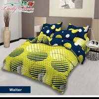 bed cover lady rose sprei karet no2 uk 160x200 motif Walter