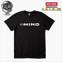 Kaos Baju Hino Truck Mobil Bus Logo Racing Otomotif - Gilan Cloth