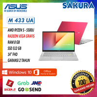 Asus M433UA EB551TS-EB554TS | Ryzen 5 5500U 8GB 512ssd W10+OHS 14FHD