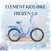 Sepeda Anak Mini Cewek Element Disney Frozen 5.0 Roda Empat Resmi SNI - 12