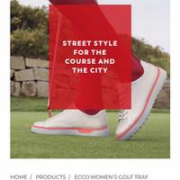 New Women Golf Shoes | Sepatu Golf Wanita Original| Ecco Golf Tray