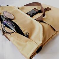 Lappie by Put it On (Tas 3 in 1. backpack,slingbag,dan handbag) - Khaky
