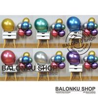 Balon Latex Jumbo 18 Inch / Balon 18 Inch Chrome / Balon Chrome Jumbo