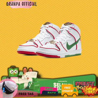 Promo Sepatu Nike Sb Dunk High Paul Rodriguez Mexico Original Sneaker
