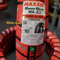 BAN MOTOR MATIC - MAXXIS GREEN DEVIL MA-G1. 90/80-R14 TUBELESS.