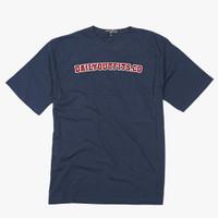 Dailyoutfits T-Shirt Font Navy