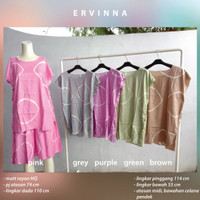 Babydoll Rayon Pendek Setelan Baju Tidur Terbaru Adem