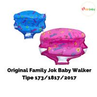 Jok Family Baby Walker ORI Ukuran M Pink Biru 1858 2068 218A 2017 781A