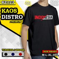 Kaos Baju Indonesia Tshirt Distro Keren Casual Pria Cowok Cowo KZ123