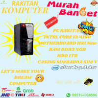 PC RAKITAN INTEL CORE I3 4160 4GB HDD 1TB