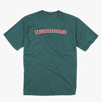 Dailyoutfits T-Shirt Font Green