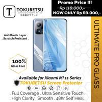 Tokubetsu Xiaomi Mi 11i Anti Gores Hydrogel Ultimate -Screen Protector - Clear, Front