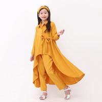 ( 6 - 12 Thn ) Baju setelan Keren anak anak perempuan terbaru 2021 -MS