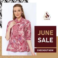 Blouse Adinata Batik Jennie - L