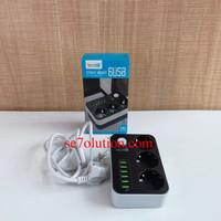 Secret-G Stop Kontak 3 Lubang + 6 USB 1.6M (SE3631)
