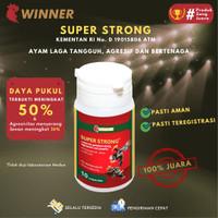 Super Strong WINNER Medion pengganti Supertop, Vitamin ayam adu/laga