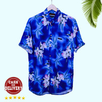 Baju Pantai motif Bali Tropical Summer Aloha Hawaii