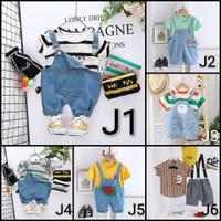 0-4 tahun|baju kodok pakaian setelan anak jumper jumpsuit laki bayi