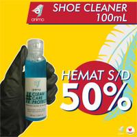 Animo Shoe Cleaner 100ml / Cairan pembersih sepatu , tas dan topi