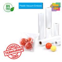 REFILL PLASTIK VACUUM SEALER EMBOSS ROLL,PLASTIC VACUUM BAG,FOOD GRADE