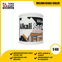 CAT DASAR WELDON ALKALI SEALER 5 KG - UNTUK DINDING BARU