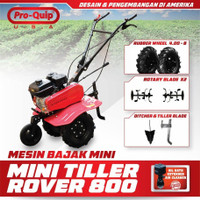 Traktor Mini PROQUIP - Cultivator Power Tiller Mesin Bajak Mini