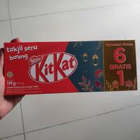 Kitkat nestle coklat biskuit 102gr ( 1 pack isi 6pcs )