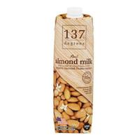 137 degrees real almond milk - original 1 l