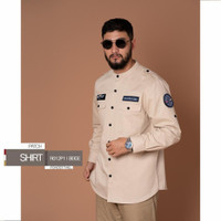 Shirt Patch SAMASE - Beige, XL